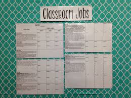 Category Classroom Jobs Teaching Healthy