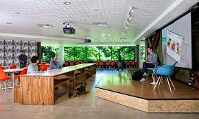 microsoft office redmond. Microsoft Offices In Redmond: Future Vision Merges The Casual \u0026 Corporate Office Redmond N