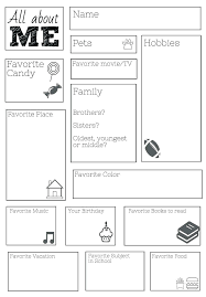 All About Me Worksheets Pdf Ed Worksheets Er Est Ends And Grade Ks1