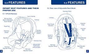 features babytrend cc21095 flex loc infant car seat sonic user manual