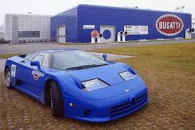 From 1991 to 1995, when the company was liquidated. Bugatti Eb 110 The Return International Classic