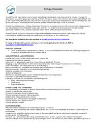 10 Brand Ambassador Resume Sample | Riez Sample Resumes | Riez throughout Brand  Ambassador Resume