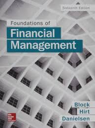 Access Financial Management Foundations Of Financial Management With Connect Access Card Souq