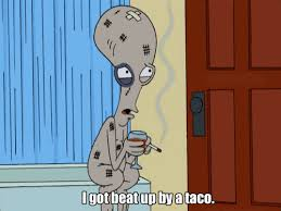 roger the alien american dad! gif | T O O N  IN | Pinterest ... via Relatably.com