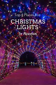 Where To Find The Best Christmas Lights In Houston Texas