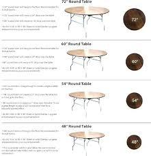what size tablecloth for 5ft round table what size tablecloth for a round table how many