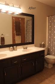 Dark Bathroom Vanity Bathroom Elegant Dark Bathroom Vanity Cabinets With Towel Bar And