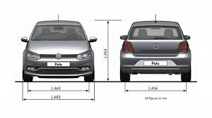 2014 Volkswagen Polo Dimensions - YouTube