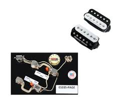 search results for epiphone es 339 siglermusiconline com 2duncan sh 18 whole lotta humbucker set black white es 335 page harness
