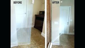 hard water stains on shower doors large size of glass to remove stain remover door clean