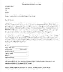 30 Simple Letter Of Intent Templates Pdf Doc Free