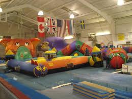 Inflatable Room Stga Southern Tier Gymnastics Academy Endwell Ny