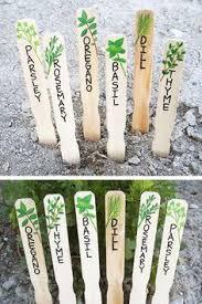 17 best ideas about herb markers on garden plant garden labels