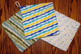 Double Sided Crochet Potholders Patterns
