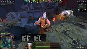 TIL Shopkeeper actually has health and 1 attack damage : DotA2