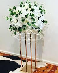 wedding flower vase metal flower stand gold column elegant wedding table centerpiece wedding flower decoration vase wedding decorators in chennai wedding