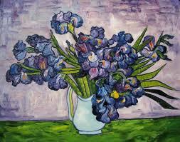 vincent van gogh oil painting 181 van gogh purple flowers abstr