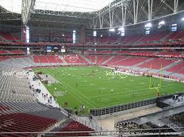45 Efficient University Of Phoenix Stadium Seating Chart