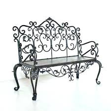 wrought iron indoor furniture. Wrought Iron Bench Benches Indoor Source Garden Butterfly Rustic White Elegant For Living Outdoor Furniture Melbourne . O
