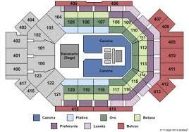 Arena De Monterrey Tickets And Arena De Monterrey Seating
