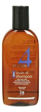 <b>Шампунь No 4 для</b> очень жирных волос System 4 Shale Oil ...