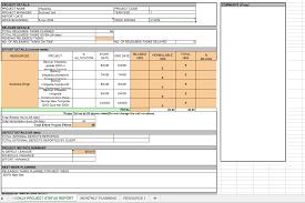 Weekly Project Status Report Sample Weekly Project Status Report Template Excel Status Report Template