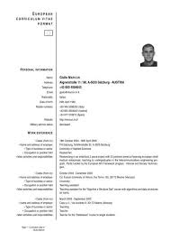 European Curriculum Vitae Format Giulio Marcon