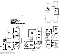 here a floor plan shows the vast number of rooms in the victorian house