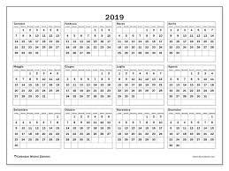 Calendario 2019 34ld Michel Zbinden It