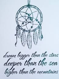 Dream Catcher Saying