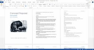 It Proposal Template Word Concept Proposal Template MS Word 6