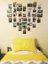 dorm room pictures heart photo walls