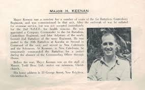 Harold Keenan - Online Cenotaph - Auckland War Memorial Museum