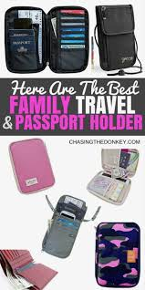 family passport holder pin