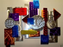 fantastical colorful metal wall art interior decor home inspiration 35 my of life decorating design on colorful metal wall art decor with colorful metal wall art japs fo
