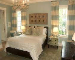 Nautical MAster Bedroom Ideas with Curtains and Drapes