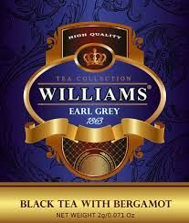 Black tea with bergamot. <b>Чай черный WILLIAMS</b> Earl Grey с ...