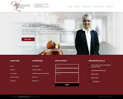 Winchester Website Design Winchester Law Llc Singapore Freelancer Web Design And