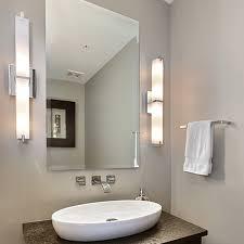 cool bathroom lighting. Modern Bath Lighting 6 Light Bathroom Vanity Fixture Wall For Inspirations 4 Cool N