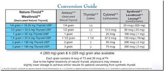 Synthroid Dosage Chart Converting Synthroid To Natural Dessicated Thyroid Google