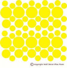 3 variety polka dot wall decal vinyl