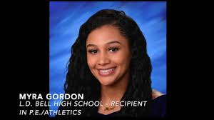 Awards of Excellence 2020 - Myra Gordon - YouTube