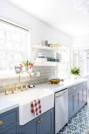 interior design fo open shelving kitchen. How To Style Open Shelving. Emily_henderson_ginny_macdonald_farmsink Interior Design Fo Shelving Kitchen B
