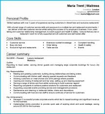 Modern Resume Template Word Format Cve Waitress Resumes Waitressesume Sampleses Sample Modern Resume