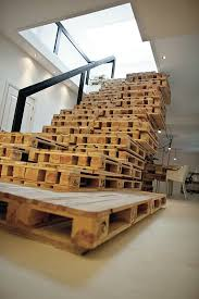 wood pallets furniture. pallet staircase wood pallets furniture