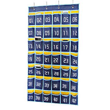 Cell Phone Pocket Chart Misslo Numbered Classroom Pocket Chart For Cell Phones 42