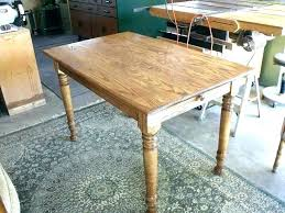 farmhouse table legs pine dining room