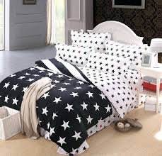 star comforter set black and white star bedding comforter set queen size duvet cover bedspread bed star comforter set