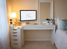 table ikea. room tour office malm dressing table makeup collection ikea