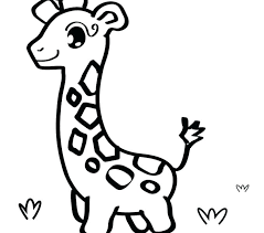 Easy Animal Coloring Pages Baby Animal Coloring Sheets Easy Pages